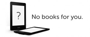 No Books For You