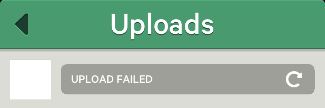 Vine Upload Failed